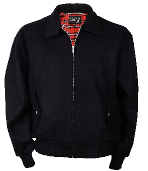 Harrington Winter Jacket (schwarz)