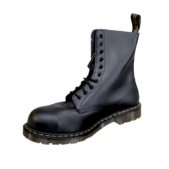 Dr.Martens Boots Stahl/Steel (10 Loch) (helle Sohle)