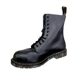 Dr.Martens Boots Stahl/Steel (10 Loch) (helle Sohle)