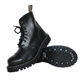Steel Boots (8Loch) (black)