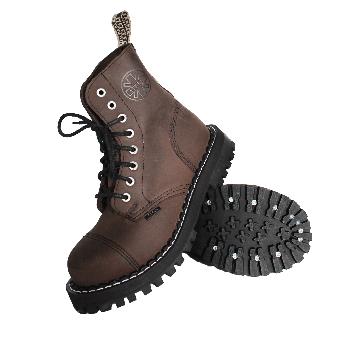 Steel Boots (8Loch) (brown)