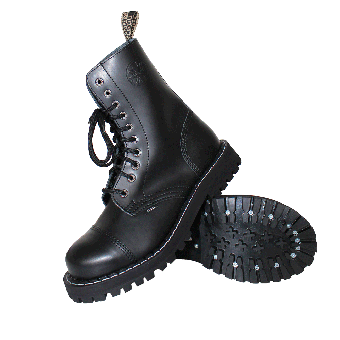 Steel Boots (10Loch) (black)