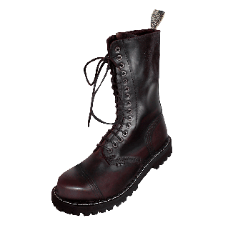 Steel Boots (15Loch) (burgund)