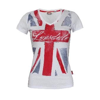 "Lonsdale ""Aldershot"" Girly Shirt (weiss)"