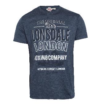 "Lonsdale ""Hamstreet"" T-Shirt (marl navy)"