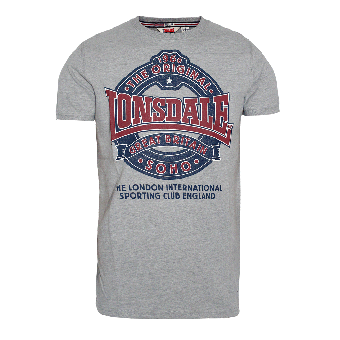 "Lonsdale ""Dymchurch"" T-Shirt (grey)"