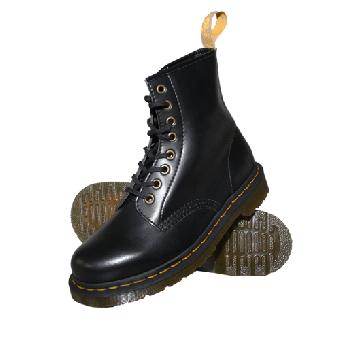 "Dr.Martens Boots ""Vegan 1460"" (8Loch) ( Felix Rub Off) (black)"