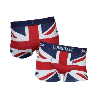 """Lonsdale """"Tisbury"""" Boxershort (navy/red/white)"""