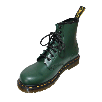 """Dr. Martens """"1460 Smooth"""" Boots (8Loch) (green)"""