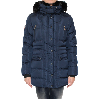 """Lonsdale """"Louth"""" Girly Winterjacke (navy)"""