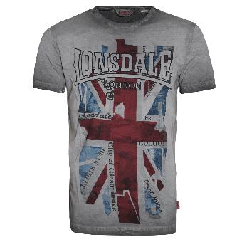"""Lonsdale """"Windsor"""" T-Shirt (grey)"""
