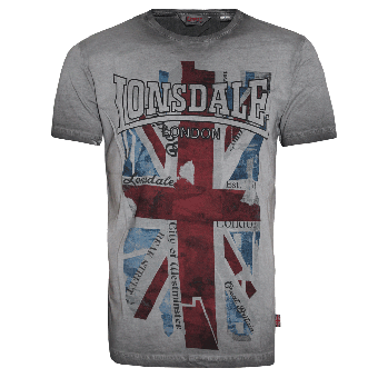 "Lonsdale ""Windsor"" T-Shirt (grau)"