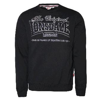 """Lonsdale """"Steyning"""" Sweatshirt (black)"""