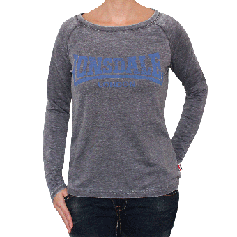 "Lonsdale ""Leek"" Girly Sweatshirt (grey)"