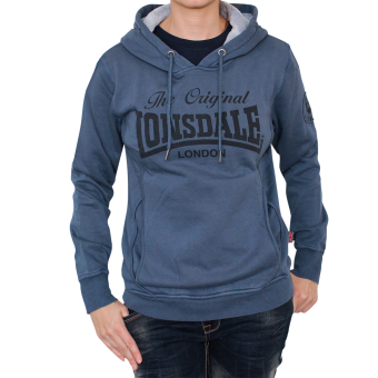 "Lonsdale ""Shawbury"" Girly Hooded (blue)"