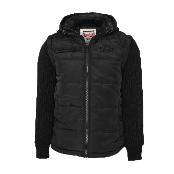 "Lonsdale ""Tuxford"" Winterjacket (black)"