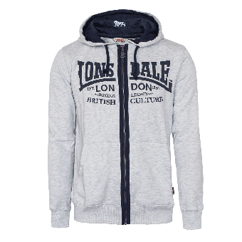 """Lonsdale """"Axmouth"""" Zipjacket (grey)"""