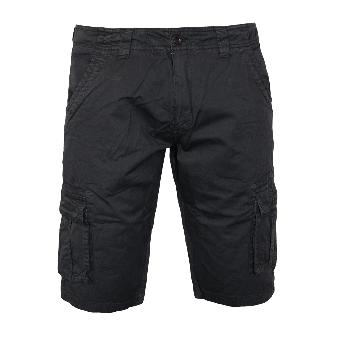 """Lonsdale """"Bosham"""" Cargo Shorts (black)"""