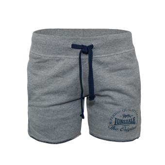 "Lonsdale ""Apley"" Ladies Sweat Shorts (grey)"
