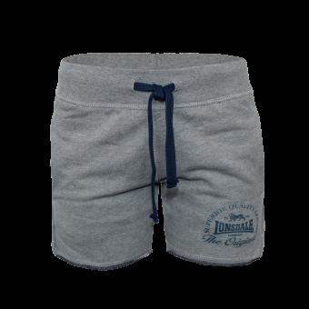 "Lonsdale ""Apley"" Ladies Sweat Shorts (grau)"