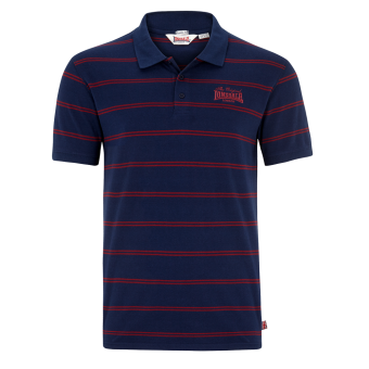"""Lonsdale """"Diss"""" Polo (navy/rot)"""