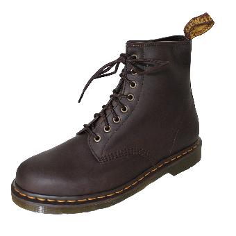 "Dr.Martens Boots ""Gaucho"" Crazy Horse (brun fonce) (8 Eye)"