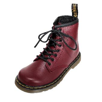 "Dr. Martens ""Delaney"" Kids Boot (cherry red)"