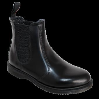 "Dr. Martens ""Flora"" Girl Chelsea Boot (black)"