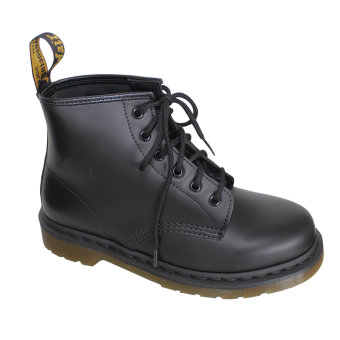 "Dr. Martens ""101 Smooth"" Boot (6 Loch) (schwarz)"