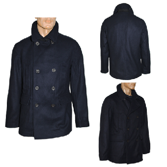 "Ben Sherman ""DB Melton Peacoat"" (classic navy)"