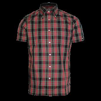 """Brutus """"Trimfit"""" Shirt (red tartan)"""