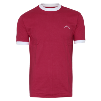 "Brutus ""Trimfit"" Ringer T-Shirt (red)"