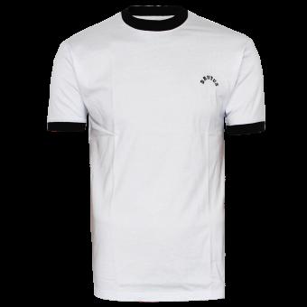 "Brutus ""Trimfit"" Ringer T-Shirt (white)"
