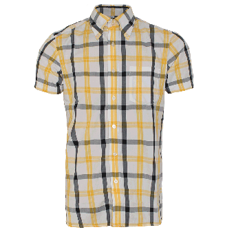 "Brutus ""Trimfit"" (Yellow Black Tartan)"