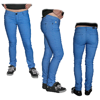 "Fuga ""Felix"" Girly Jeans (slim) (light blue) (reduziert)"