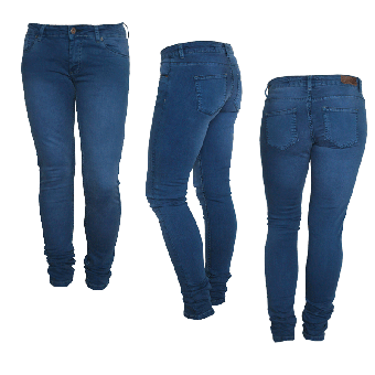 "Fuga ""Felix"" Girly Jeans (slim) (electric blue)"
