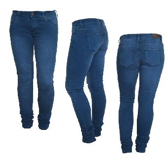 "Fuga ""Felix"" Girly Jeans (slim) (electric blue)"
