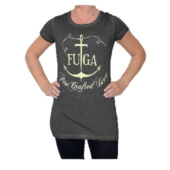 """Fuga """"Sailor"""" Girly Shirt (black)"""