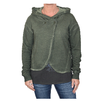 "Fuga ""Tina"" Girly Kurzjacke/ Hooded (new olive) (reduziert)"