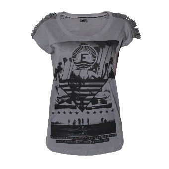"Fuga ""Tessa"" Girly Shirt (dark grey)"