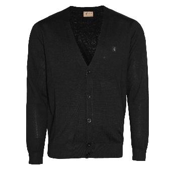 Gabicci V-Cardigan (black)