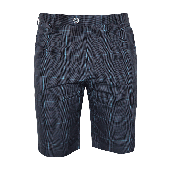 Gabicci Vintage Checked Shorts (navy)