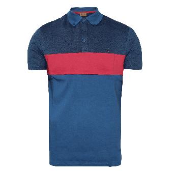 Gabicci Vintage Retro Polo (blau)