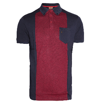 Gabicci Retro Polo (navy)