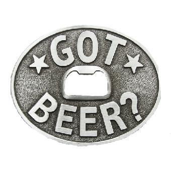 Got Beer - Gürtelschnalle / buckle (mit Flaschenöffner)