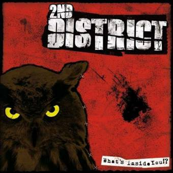 "2nd District ""What´s Inside You!?"" LP (lim. 150, splatter + DL)"