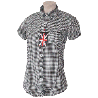 "Spirit of the Streets ""Brighton"" Lady Button Down Hemd (kurz)"