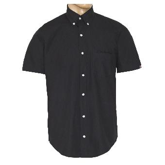 """SotS """"Black"""" Button Down Hemd (kurz)"""