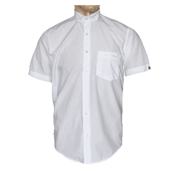 "SotS ""White"" Small Button Down Hemd (kurz)"