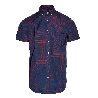 "SotS ""Pilling"" Button Down Hemd (kurz)"